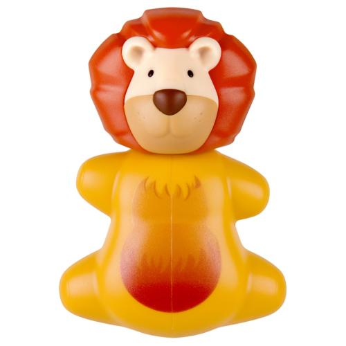 Yellow Lion Flipper Toothbrush Holder