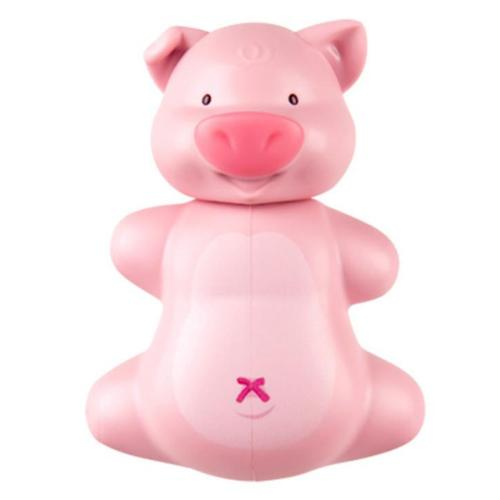Pink Pig Flipper Toothbrush Holder