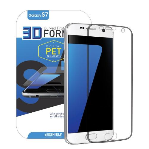 Anti-shock Screen Protector For Samsung Galaxy S7 with Full Coverage, Edge to Edge, Anti Shock, 2H, AFP, HD