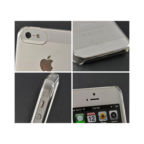 iLuv Gossamer Clear Hard Back Cover for Apple iPhone 5/5S