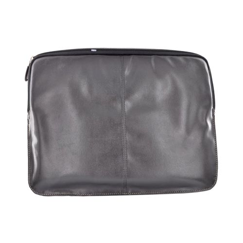 "Krusell Netbook 12"" NoteBook Leather Case, 71170 - Black"