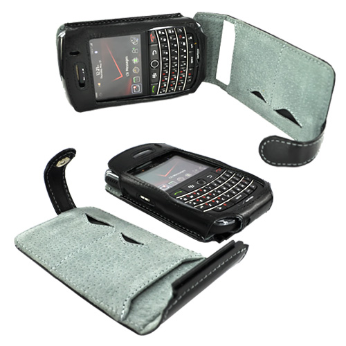Original Krusell Blackberry Bold 9650 & Tour 9630 Orbit Flex w/ Multidapt Leather Case, 75447