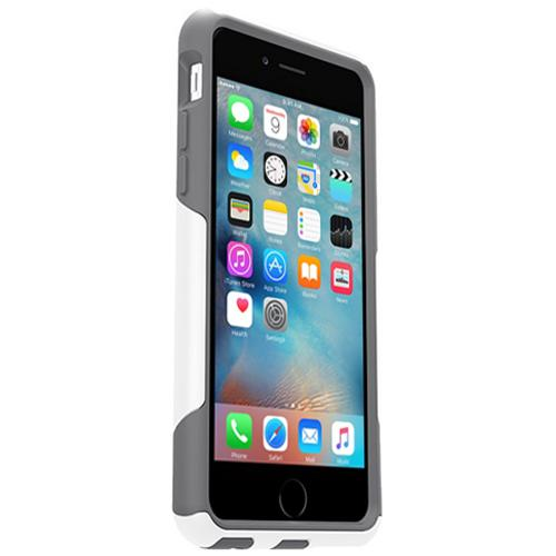 Made for Apple iPhone 6/6S (4.7 inch) Case, [White/Gray] Commuter Series Hybrid Hard Cover Case w/ Screen Protector by Otterbox