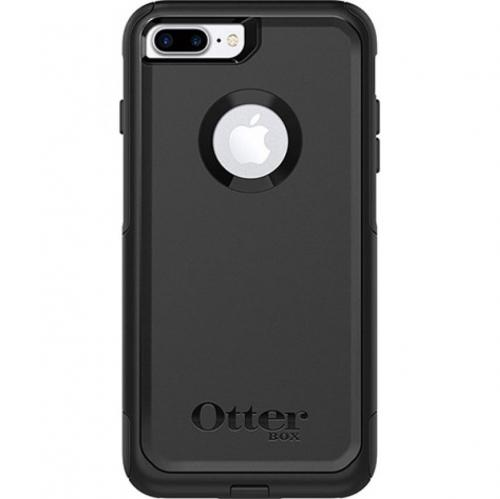 Apple iPhone 8/7/6S/6 Plus Case, Otterbox [Black] Commuter Series Hybrid Hard Cover Case