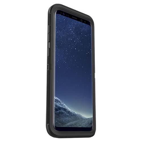 Samsung Galaxy S8 Plus Case, Otterbox [Black] Defender Series Hard Cover Case w/ Holster