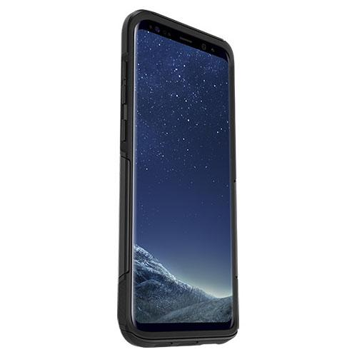 Samsung Galaxy S8 Plus Case, Otterbox [Black] Commuter Series Hybrid Hard Cover Case
