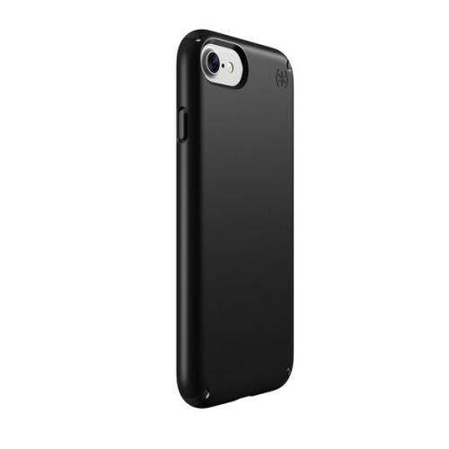 Made for Apple iPhone 8/7/6S/6 Case, Speck Presidio Slim Hard Cover Case w/ IMPACTIUM Shock Barrier [Black] by Speck