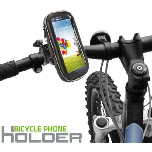 Cellet Black Heavy Duty All Weather Bicycle Smartphone Holder