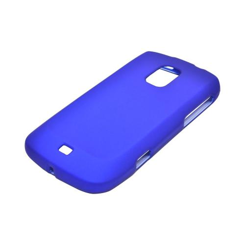 OEM MultiPro Samsung Galaxy S Lightray 4G Rubberized Hard Case - Blue