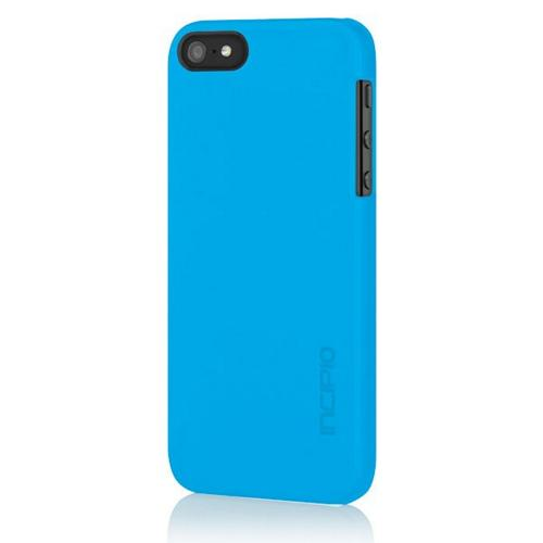 Apple iPhone SE / 5 / 5S  Case, Incipio [Blue] Feather Series Ultra-Thin Rubberized Hard Case w/ Screen Protector - IPH-807