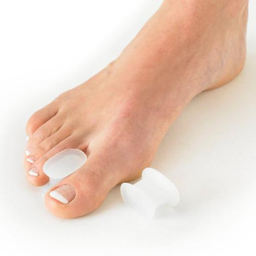 Neo Gel [Medical Grade] Silicone Big Toe Separators [2 Pieces]