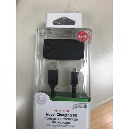 Qmadix [Qualcomm Quick Charge 2.0] Micro USB Travel Charging Kit