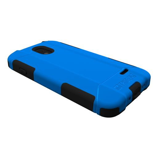 Lucid 3 Dual Layer Case by Trident [Blue] Aegis Series Featuring Hardened Polycarbonate Over Silicone Skin Hybrid Case W/ Screen Protector