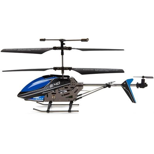 "UDI U820 Mini 3CH 2.4GHz Alloy RC Helicopter 9"" [Blue]"