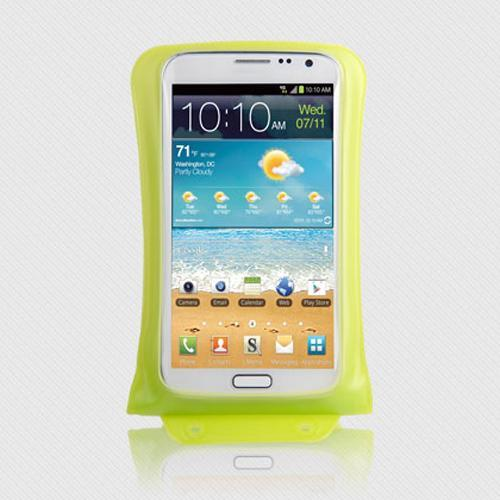 DiCAPac Waterproof Case for Samsung Galaxy Note Series [Green] - Protect Your Smartphone From Water This Summer! WP-C2