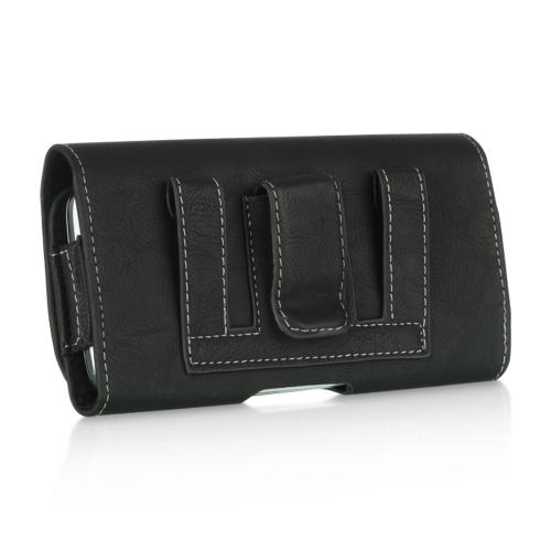 Made for Apple iPhone 6 (4.7 inch) Horizontal Holster Pouch Case w/ Metal Belt Clip  by Redshield