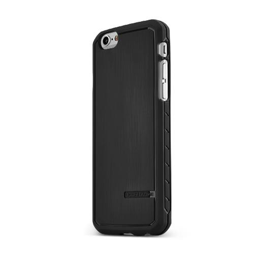 Made for Apple iPhone 6/ 6S Case, Body Glove [Black] Satin Series Slim Flexible Anti-shock Crystal Silicone Protective TPU Gel Skin Case Cover by Body Glove