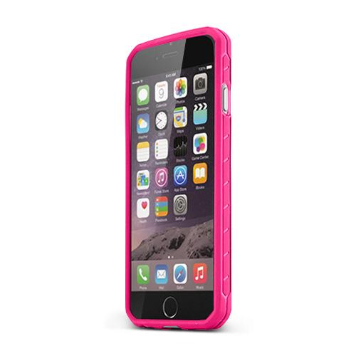 Hot Pink Body Glove Apple iPhone 6 /6S (4.7 inches) Satin Series Slim Protective TPU Crystal Silicone Case - 9448901