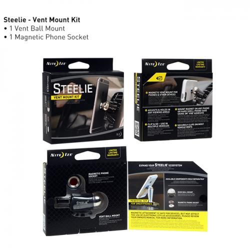 Nite Ize Steelie Vent Car Mount Kit