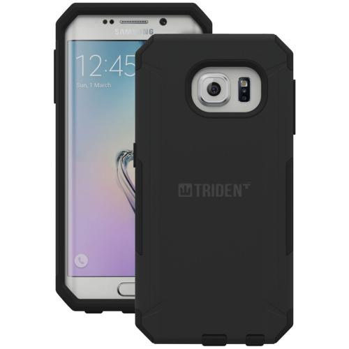 Samsung Galaxy S6 Edge Plus, Trident [Black] Aegis Series Durable Protective Dual Layer Hybrid Case w/ Free Screen Protector