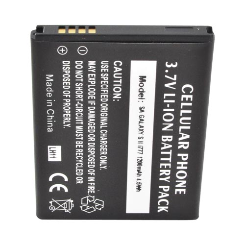 AT&T Samsung Galaxy S2 Standard Battery Replacement - Black (1200 mAh)