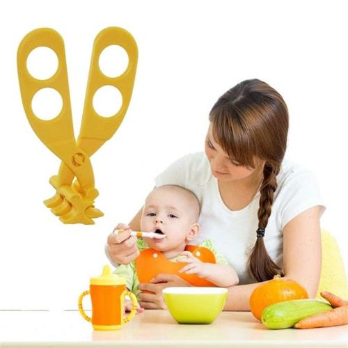 Baby Food Scissors - Multifunction Baby Food Cutting, Crushing, & Grinder Scissors - Perfect for Babies & Toddlers!