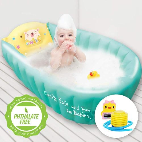 Image result for Inflatable baby bathtub