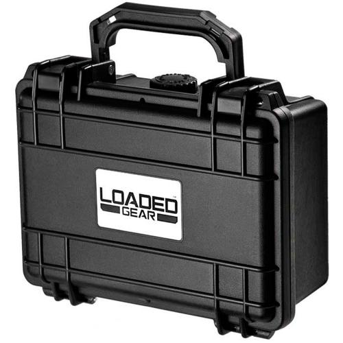 Barska Hard Case, Loaded Gear HD-100 Watertight Tough Protection Storage Case [Black]