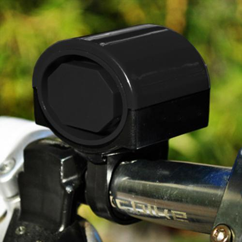 Electronic Bell Horn Cycling Hooter Bike Siren [Black]