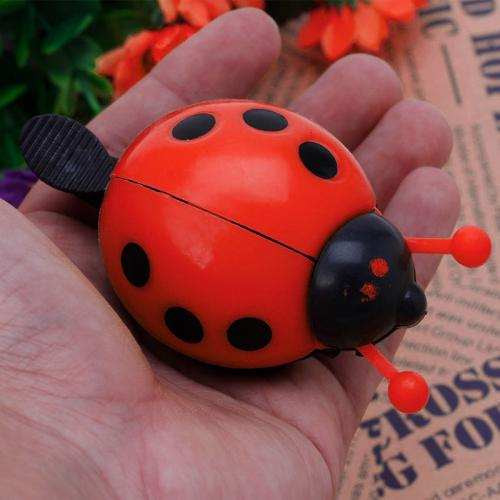 Bicycle Bell Ringer - Cute Ladybug Bicycle Bell Ringer [Red]