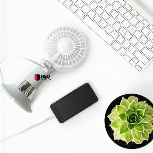 [Cellio X Alaska] Mobile Phone Stand, Multi-Function USB Powerbank, Portable Cordless Fan & LED Light