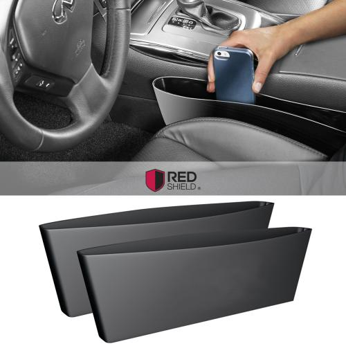 [2PK] Universal Car Interior Seat Organizer [Black] Give You More Space, And Let You Drive More Safely!