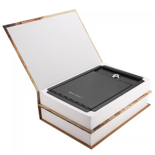 Barska Paris and London Dual book Lock Box w/ Key Lock [CB12470]