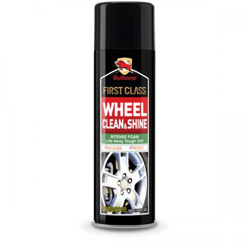 Bullsone First Class Wheel Clean & Shine - Cleanses Polishes And Prevents Recontamination On Wheel Surfaces!