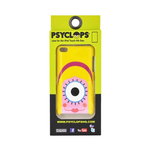 Original Psyclops Apple iPod Touch 4 Coco Hard Case - Yellow Haired Pink Cyclops