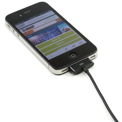 Blissful Black 6 ft. Apple iPhone/ iPod USB Charge & Sync Data Cable
