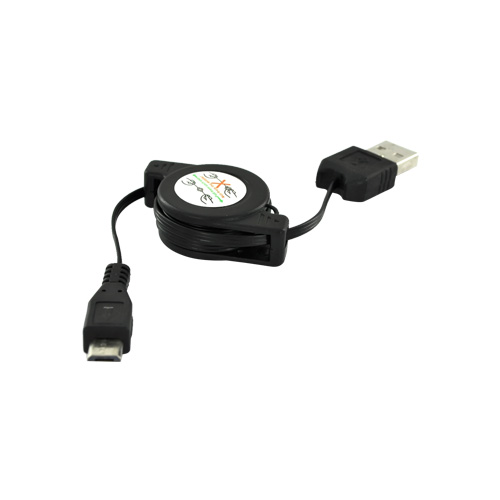 Cellet™ USB to Micro USB Retractable Data/Charger Cable
