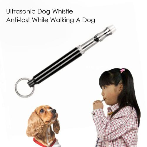 Dog Whistle, Supersonic Sound Pitch Silent Dog/ Puppy Command Training Whistle