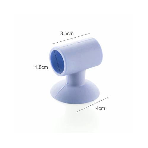 Doorknob Bumper, Flexible Silicone Crash Pad - Prevent Damage to Your Walls! [Blue]
