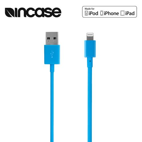 Blue Incase Apple MFI Certified Lightning Compatible to USB Charge & Sync Data Cable (6 inch)