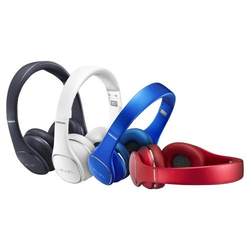 [Samsung] Level On Wireless Noise Canceling Headphones w/ Built-in Bluetooth or 3.5mm Connectivity [Red]