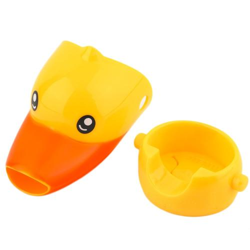 Faucet Extender, [Yellow] Duck Water Faucet Tap Extender For Kids - Makes Washing Hands Easy & Fun!