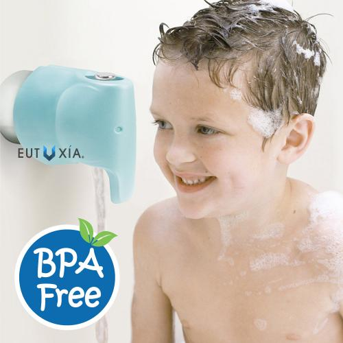 Water Faucet Protection, [Blue Elephant] Soft EVA Foam Faucet Spout Protector Cover- Perfect for Kids and Toddlers!