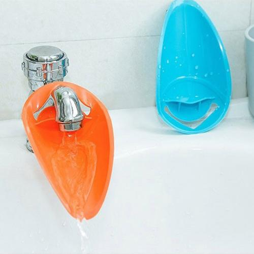 Faucet Extender Bundle, [Blue & Orange] Water Tap Extensions For Kids - Makes Washing Hands Easy & Fun!