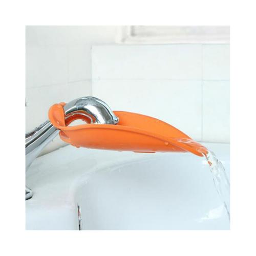 Faucet Extender, [Orange] Water Faucet Tap Extender For Kids - Makes Washing Hands Easy & Fun!