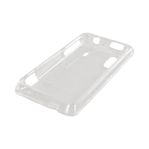 HTC EVO Design 4G Hard Case - Transparent Clear