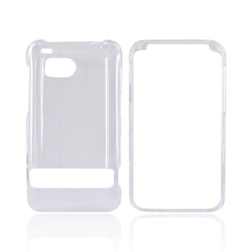HTC Thunderbolt Hard Case - Transparent Clear