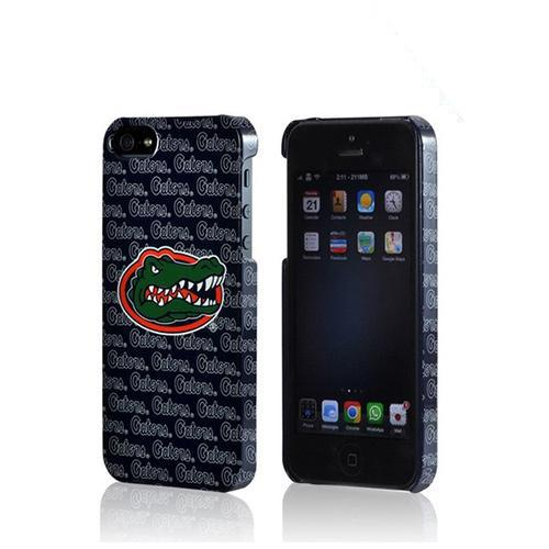 Apple iPhone SE / 5 / 5S Hard Case, NCAA LIcensed [Florida Gators]  Slim & Protective Crystal Glossy Snap-on Hard Polycarbonate Plastic Case Cover