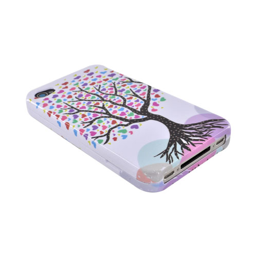 Apple Verizon/ AT&T iPhone 4, iPhone 4S Hard Case - Tree Design