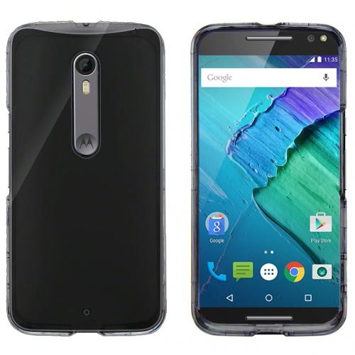 Motorola Moto X Pure Edition Case, [Clear] Solid Slim & Protective Crystal Glossy Hard Plastic Case